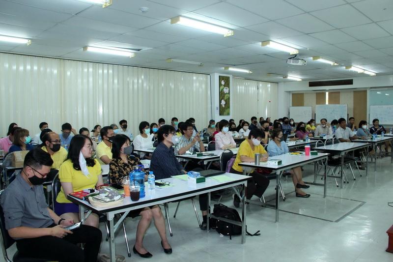 ประชุมอาจารย์ที่ปรึกษาของนักศึกษาระดับปริญญาตรีชั้นปีที่ 1 คณะวิทยาศาสตร์ มหาวิทยาลัยเชียงใหม่ ประจำปีการศึกษา 2563